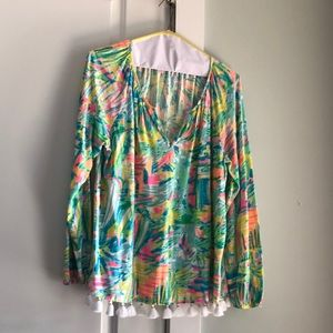 Lilly Pulitzer long sleeve top